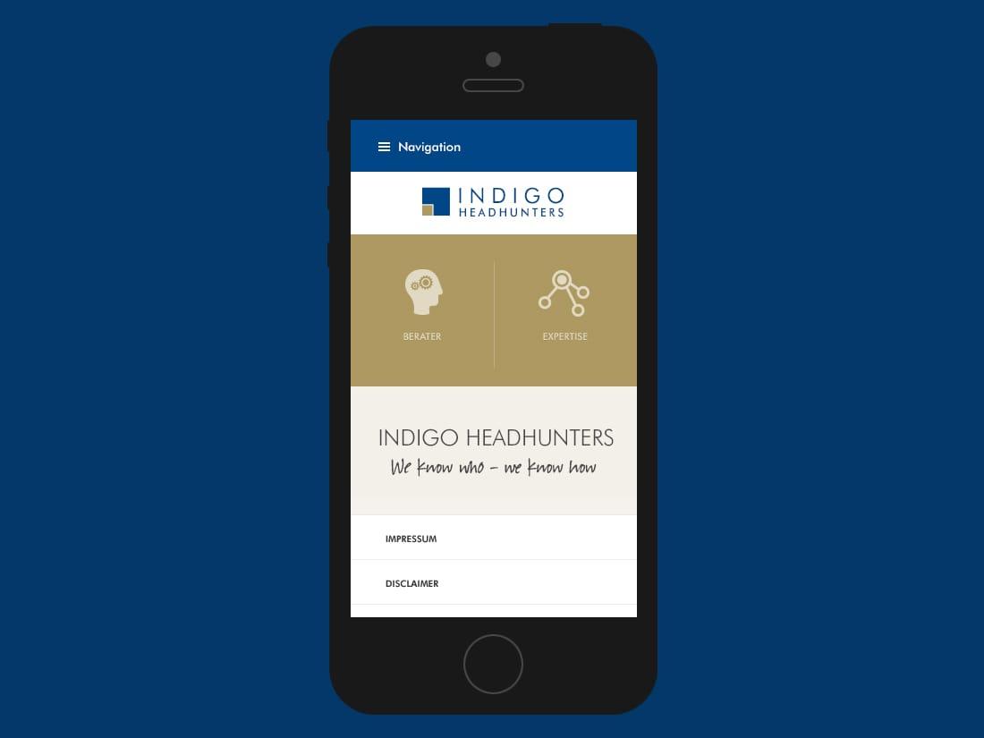 Indigo Headhunters - mobile